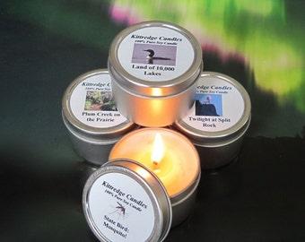 MINNESOTA SAMPLER (four 2-oz soy candles)