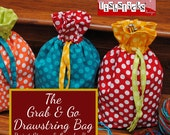 The Grab & Go Drawstring Bag (Instant Download) The Go Fish Series