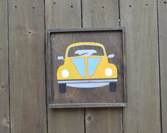 VW Bug sign MADE to ORDER