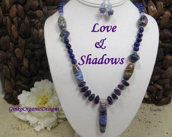 Love & Shadows necklace set