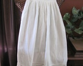 "Baby Dress Antique Victorian Ivory 32"" Long Baby Christening Gown Dress"