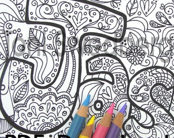 jasmine name art one coloring page colouring page pdf download