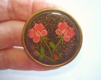 Roses Flower  Brooch KL Design
