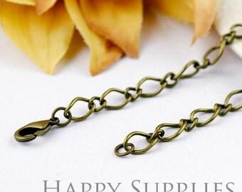 10pcs 70cm Antique Bronze Long Chain Necklace (06945)