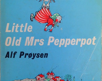 1973 Little Old MRS PEPPERPOT By Alf PROYSEN Penguin Puffin Book
