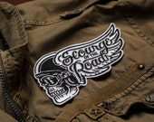 """Scourge of the Roads - 5.5"""" Embroidered Patch"""