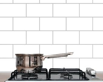 Subway Tile - Kitchen and Bathroom Wall Decals