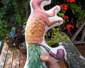 Organic Cotton Hemp Doll  - Sir Dino Pineapple