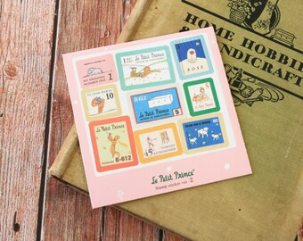 LE PETIT PRINCE Little Prince 7321 lovely ver 2 Cartoon Stamp stickers