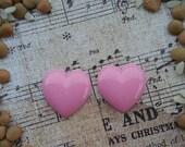 Girly Plugs Large Pink Heart Gauges