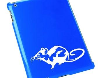 Rat Vinyl Decal / Rat Window Sticker / Rat Laptop Decal #596