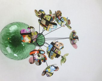 Nickelodeon Toons into Flowers Tin Forever Blooming Bouquet