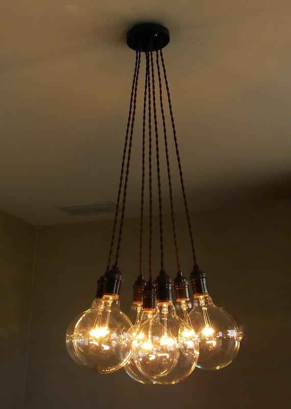 7 Cluster Pendant Chandelier Modern Lighting by