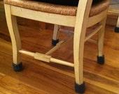 Knitted wool chair socks--floor protectors