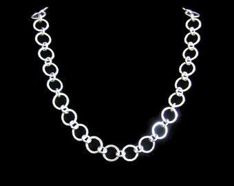 Silver CHAIN - handmade