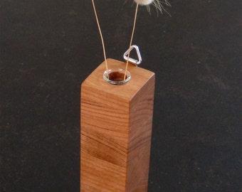 Petite Wall Vase in cherry