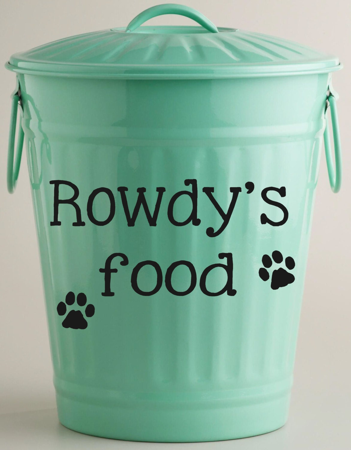 Custom Dog Food Containers