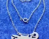 Chameleon Charm Necklace or Pendant