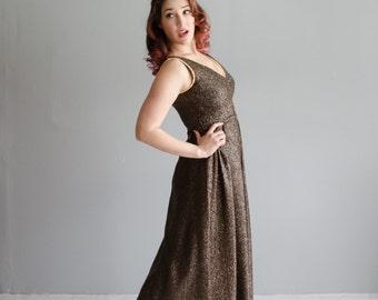 Vintage 1970s Gown - 70s Joanna Nelson Dress - Sweet Twinkle Dress