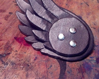 Valkyrie Wing Hair Clips- Black