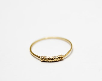 Wrap Gold filled ring, Thin gold ring, Stacking rings, Knuckle Ring, buy 3 get 4, FREE SHIPPING