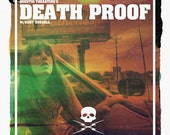 DEATH PROOF alternative movie poster