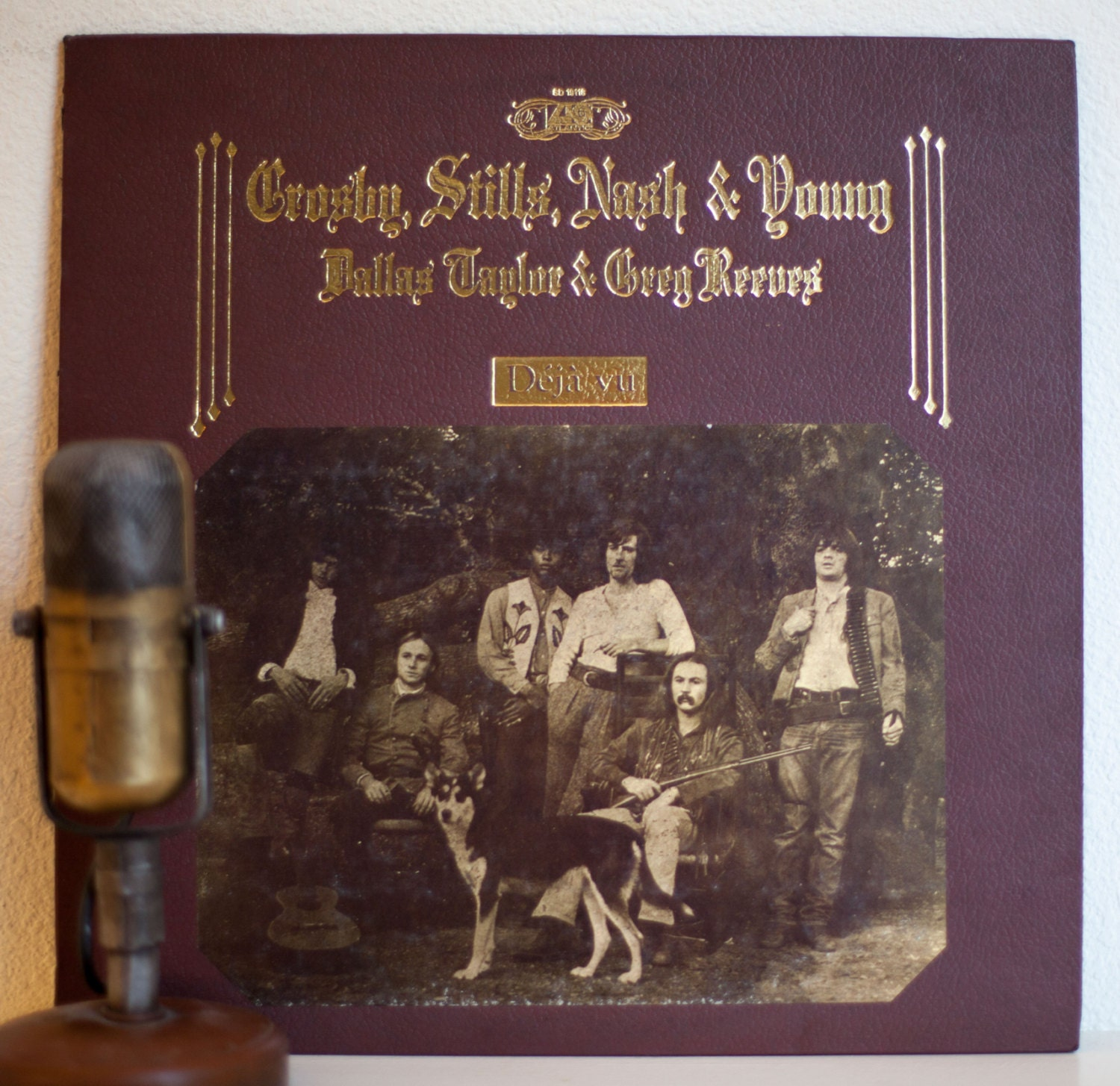 Crosby Stills Nash Woodstock 1971: CSNY Vintage Vinyl LP Record Album 1970s Crosby Stills Nash