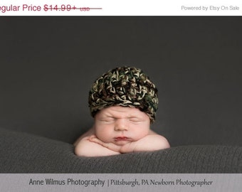 Baby Boy Camo Hat| Baby Boy Hat| Newborn Boy Hat| Infant Hat| Baby Hat | Coming Home Outfit| Shower Gift| Newborn Boy Hat| Infant Cr