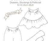 DCP02 - MSD size Inner Wear pattern Digital Download