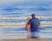 8x10 Custom Commissioned Painting in Watercolor or Oil from Photos by Janet Zeh