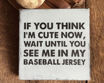 baseball baby shower gift idea baseball sign funny baseball wall art vintage baseball