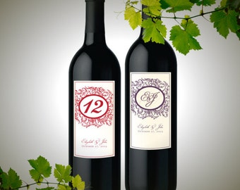 PRINTABLE Personalized Wine Bottle Label Template (1)
