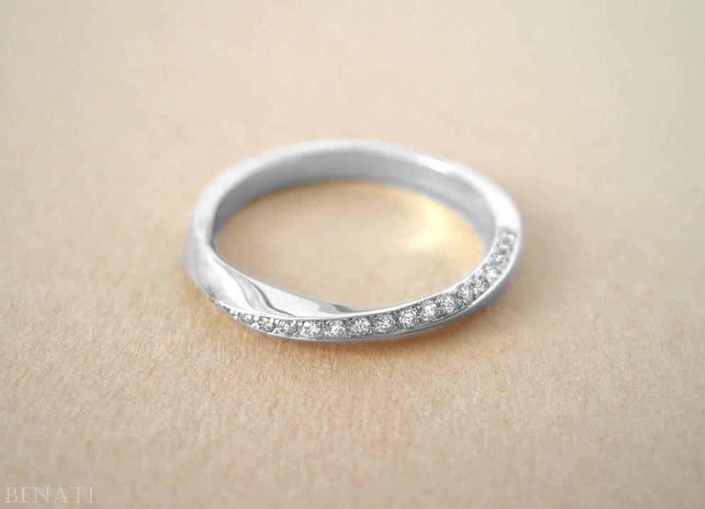 mobius wedding ring mobius ring mobius