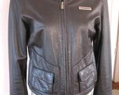 Reserved for Kristy---Vintage Harley Davidson Leather Jacket, Motorcycle, nice detail