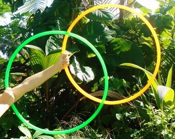 CoLoR PoLyPrO MiNi HoOpS // Poi Hula Hoop Set // Custom Color, Tubing and Diameter