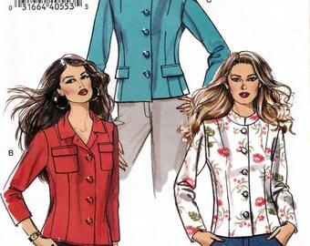 Vogue V8203 Misses' Jacket Sewing Pattern - Uncut - Size 6, 8, 10, 12