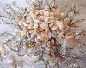 "Bulk Shells, Craft Seashells, White Shells, Beach Wedding Decor - Pearl Umbonium Sea Shells 1/4""-1/2""; 1/2 cup (approx. 550 shells)"