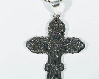 Cross - 925 silver Made in Mexico Cross