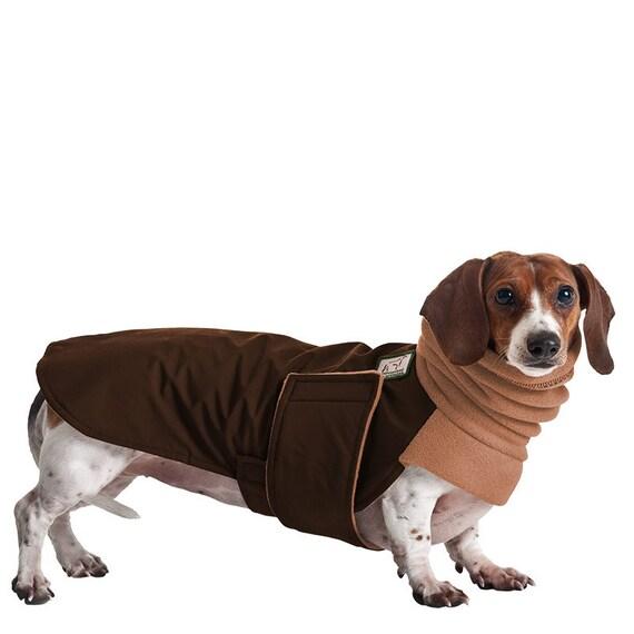 MINIATURE DACHSHUND Winter Dog Coat, Winter Coat, Dog Coat, Dog Clothing