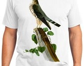 Le Petit Caporal Bird Retro Men & Ladies T-shirt - Gift for Bird Lovers and Ornithologist (idc075)
