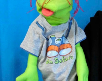 Murff male Hand Puppet or Ventriloquist Figure