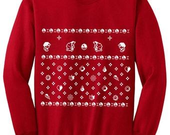 Ugly Christmas Pokemon Sweater inspired- Sweatshirt - Unisex Sizes