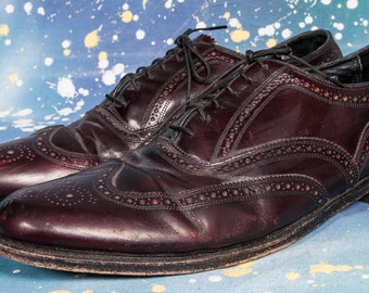 Wingtip Shoe Men's Size 12D