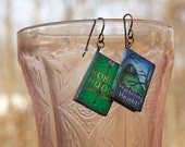 Robin Hood and Wuthering Heights Classic book earrings