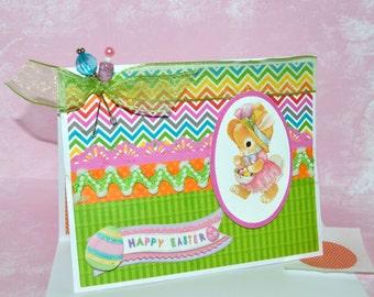 Happy Easter Card - Precious Easter Card - Cute Easter Card - Happy Easter - Happy Easter Kids