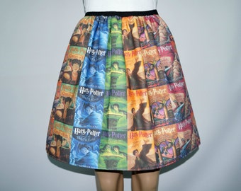 Potter Book Covers full skirt - made to order