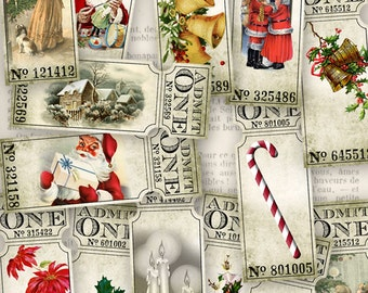 Christmas Tickets - VDTICM1016