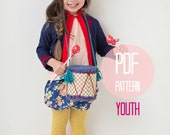 PATTERN Bubble Shorts Bloomers in Girls Youth Sizes 7 and 8 Easy Sewing Pattern