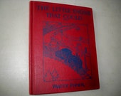 """Vintage Hardcover Children's Book """"The Little Engine That Could"""" by Watty Piper"""