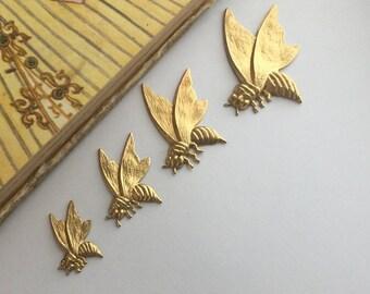 Bee in Flight (4 sizes 4pc)